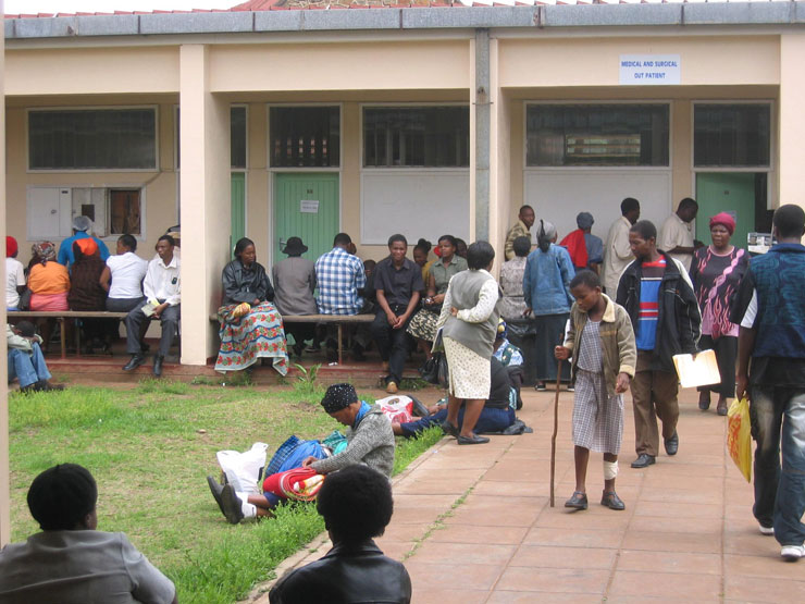 Long Queues of Patients
