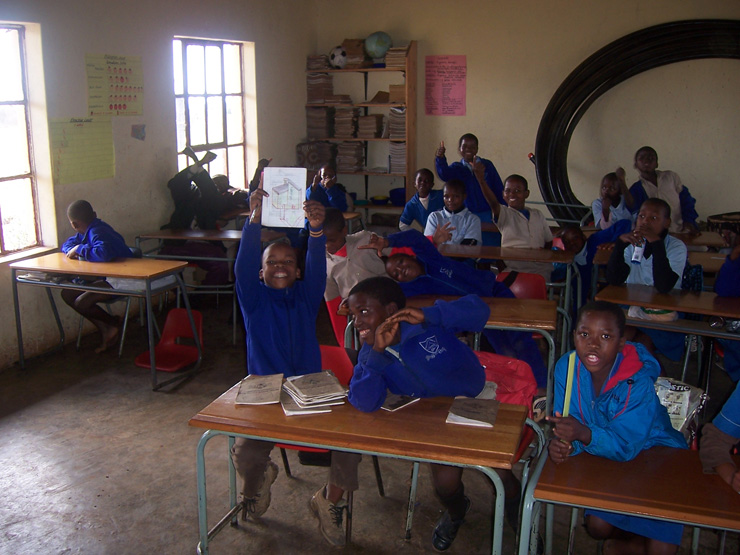 Pupils at Matjana