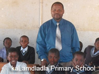 kaLamdladla Primary School Volunteer Project- Swaziland